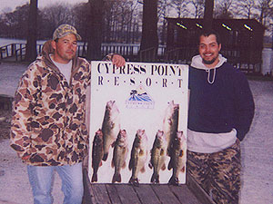 Reelfoot Lake Bass Picture