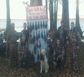 Reelfoot Lake Duck Hunting Guide